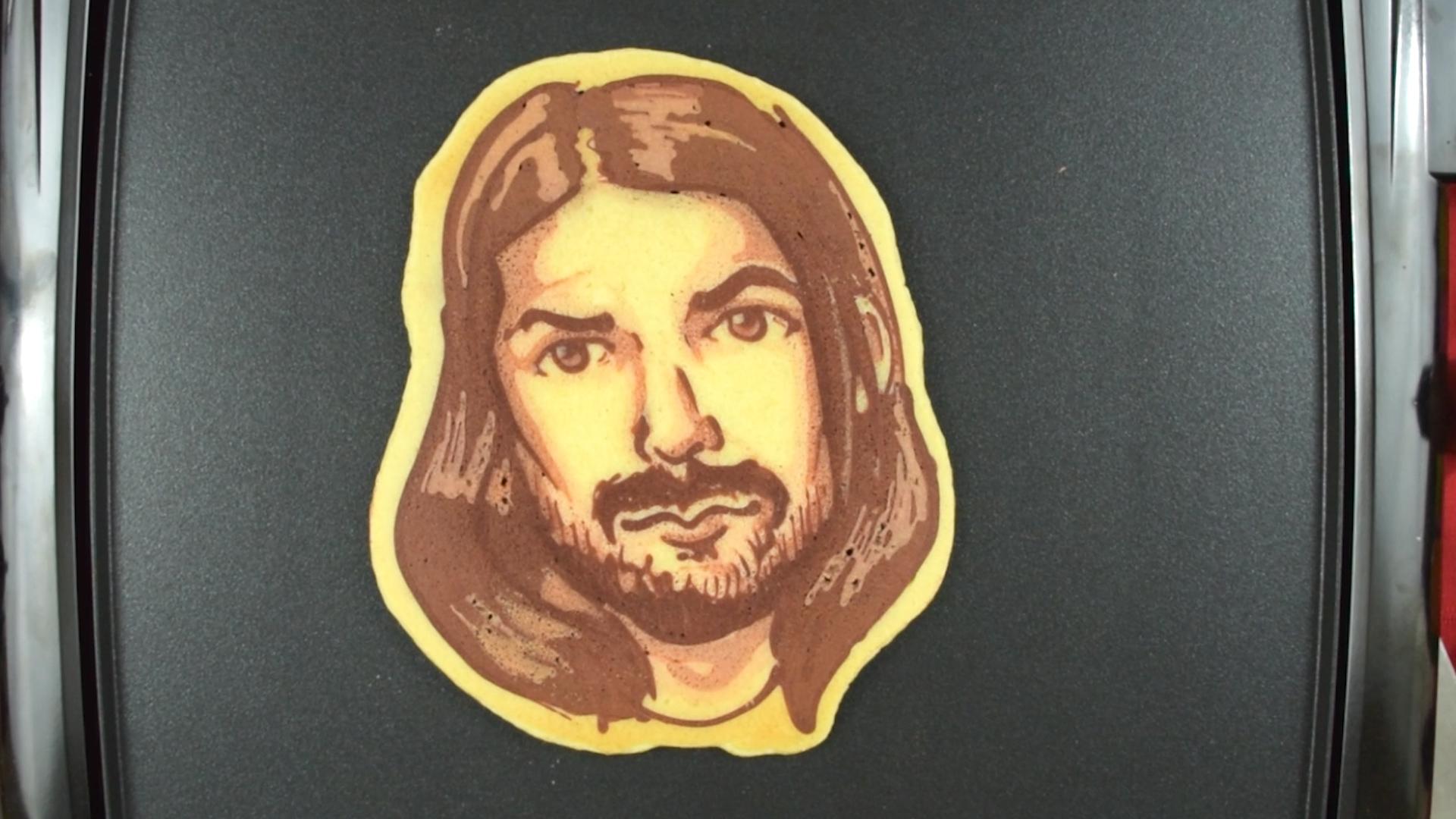 Biffy Clyro pancake Simon Neil Dancakes