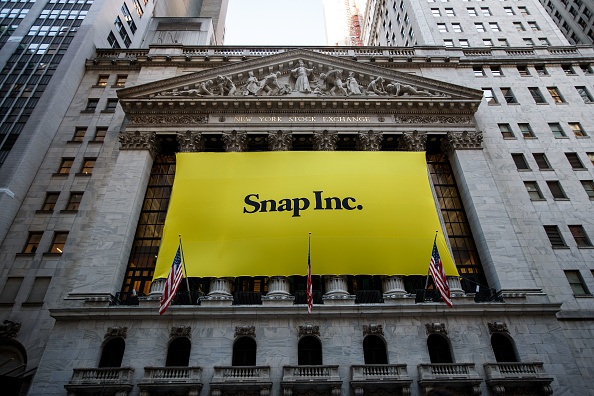 Snap Inc sign