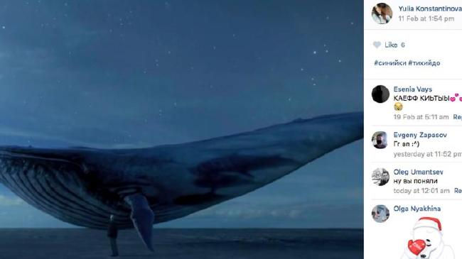 Blue whale game facebook
