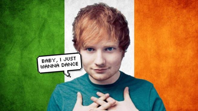 ed sheeran irish