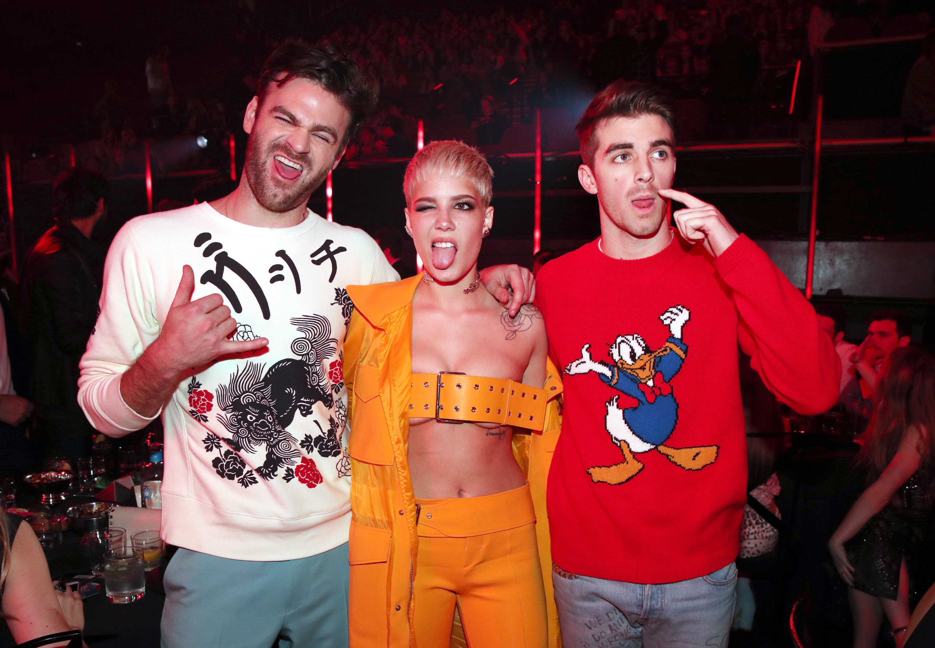 Halsey The Chainsmokers