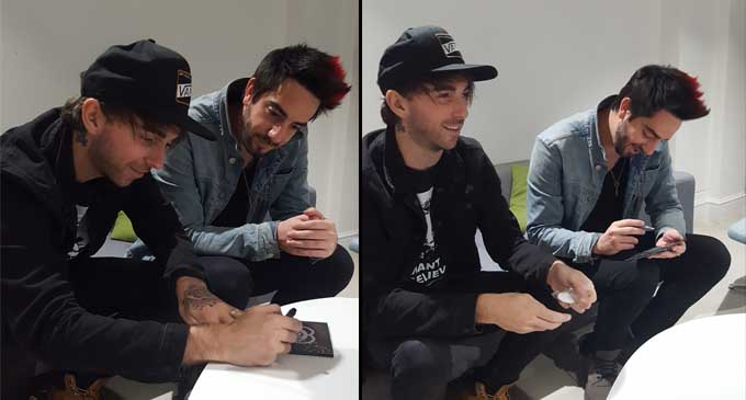 all time low signing