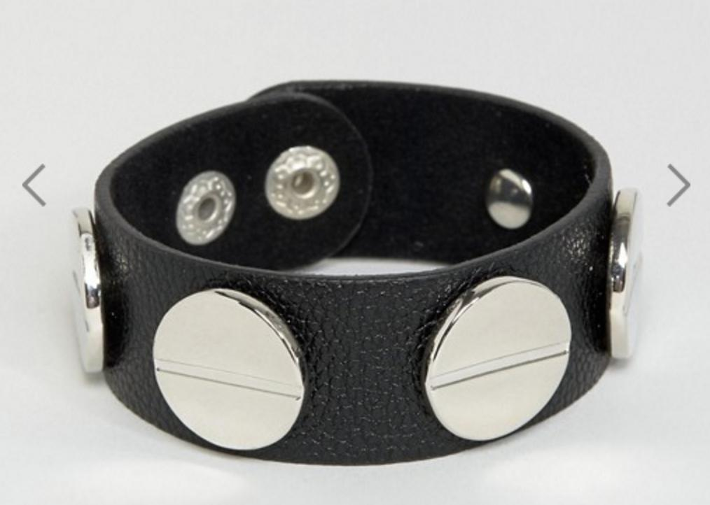 studded leather bracelets