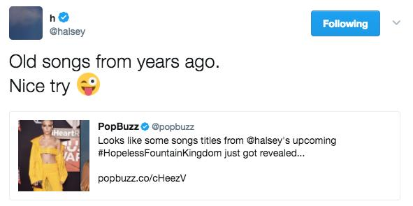 Halsey S New Album Everything We Know So Far Popbuzz