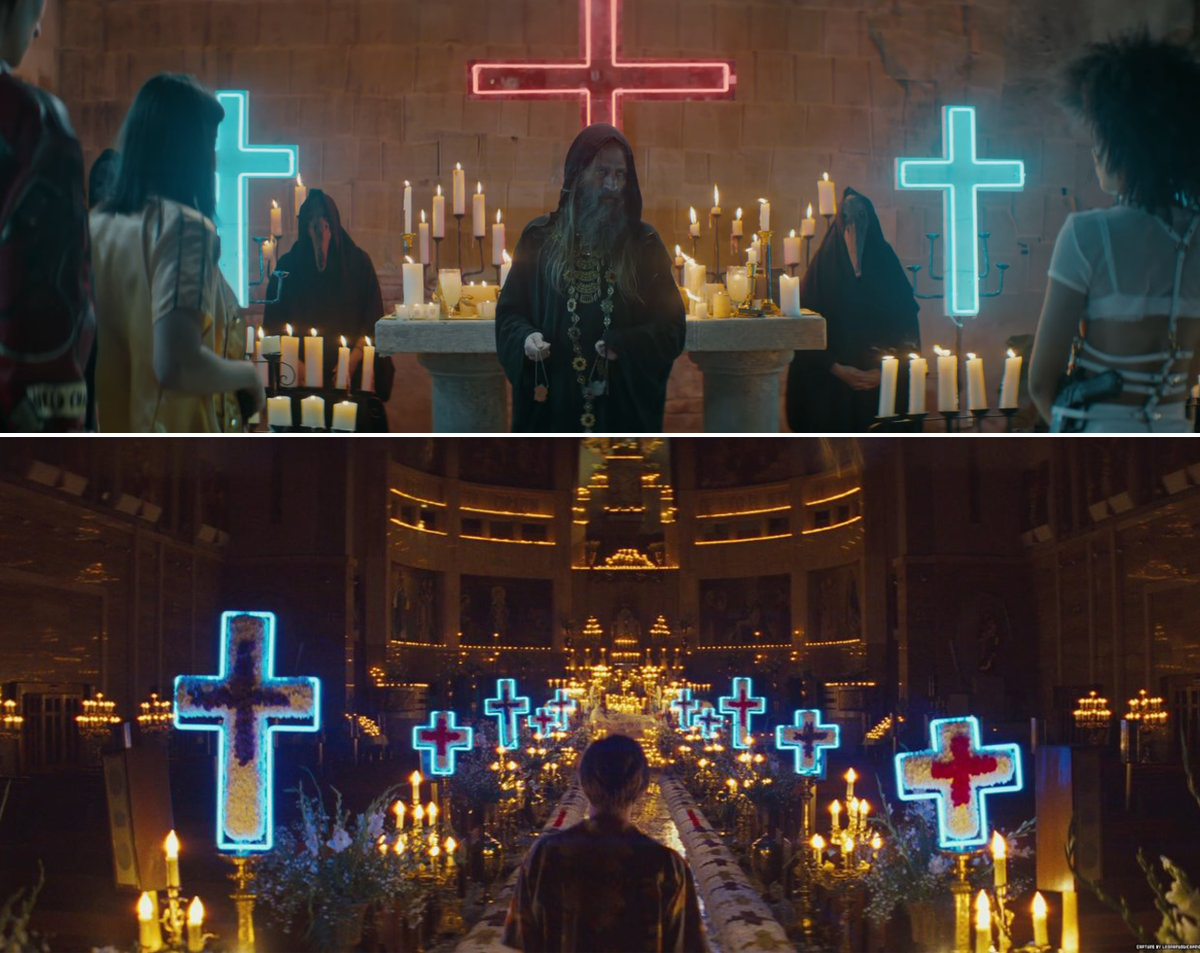 Halsey Now Or Never Romeo + Juliet Parallels