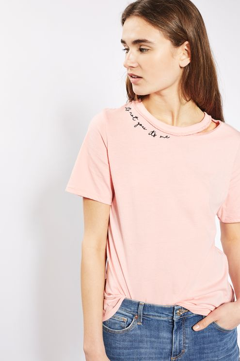 Topshop Typo Tshirt