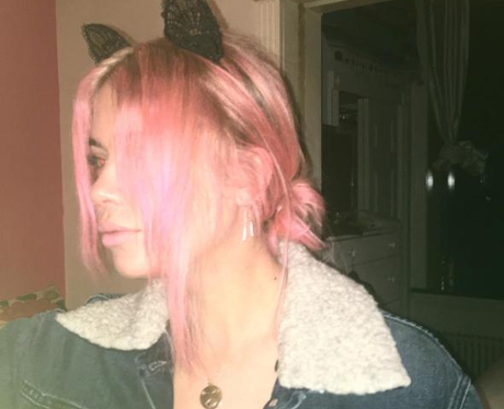 Ashley Benson Pink Hair