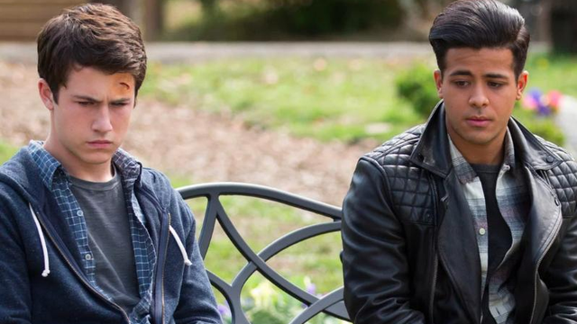 Image result for 13 reasons why clay and tony
