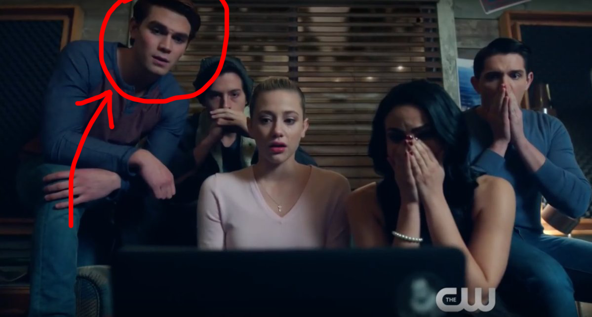 Archie Riverdale Face