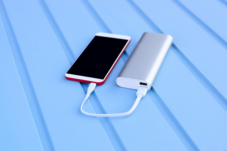 Phone and powerbank