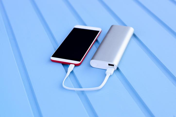 Phone and powerbank