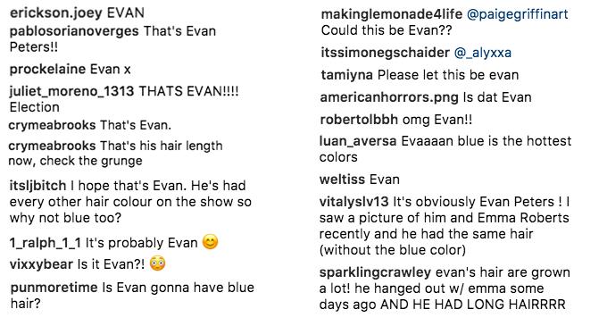 Evan Peters Instagram
