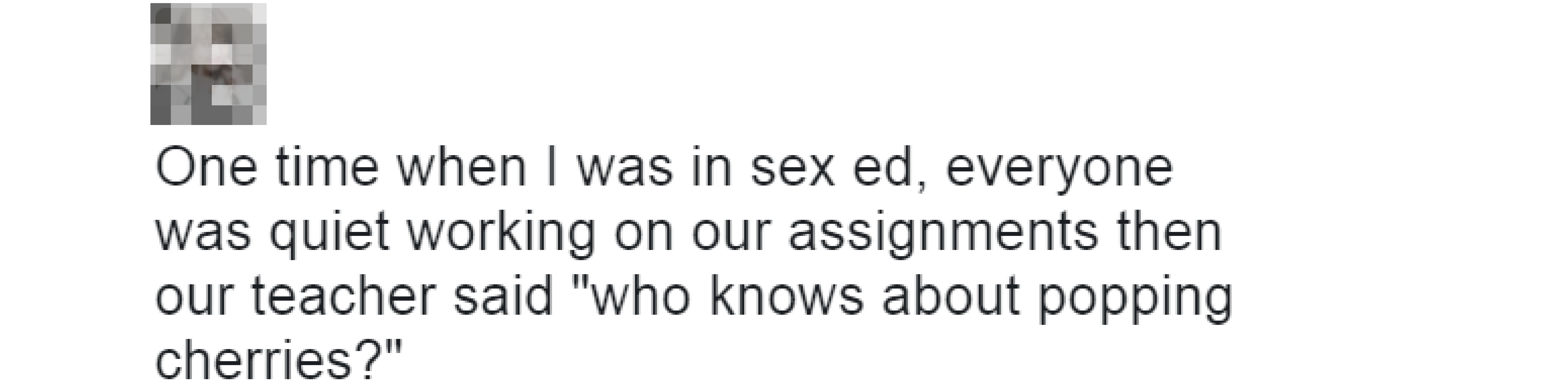 Sex ed tweets 3