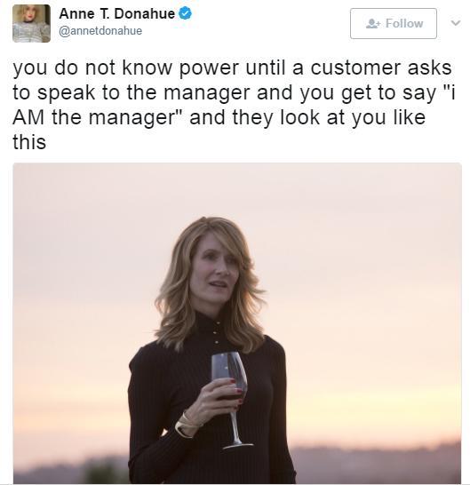 Speak to the manager joke