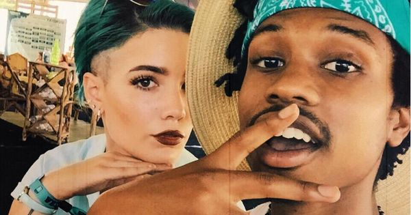 Halsey and Raury