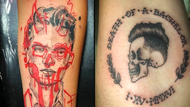 Panic at the disco tattoos