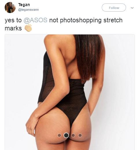 ASOS not photoshopping