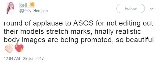 ASOS stretch marks