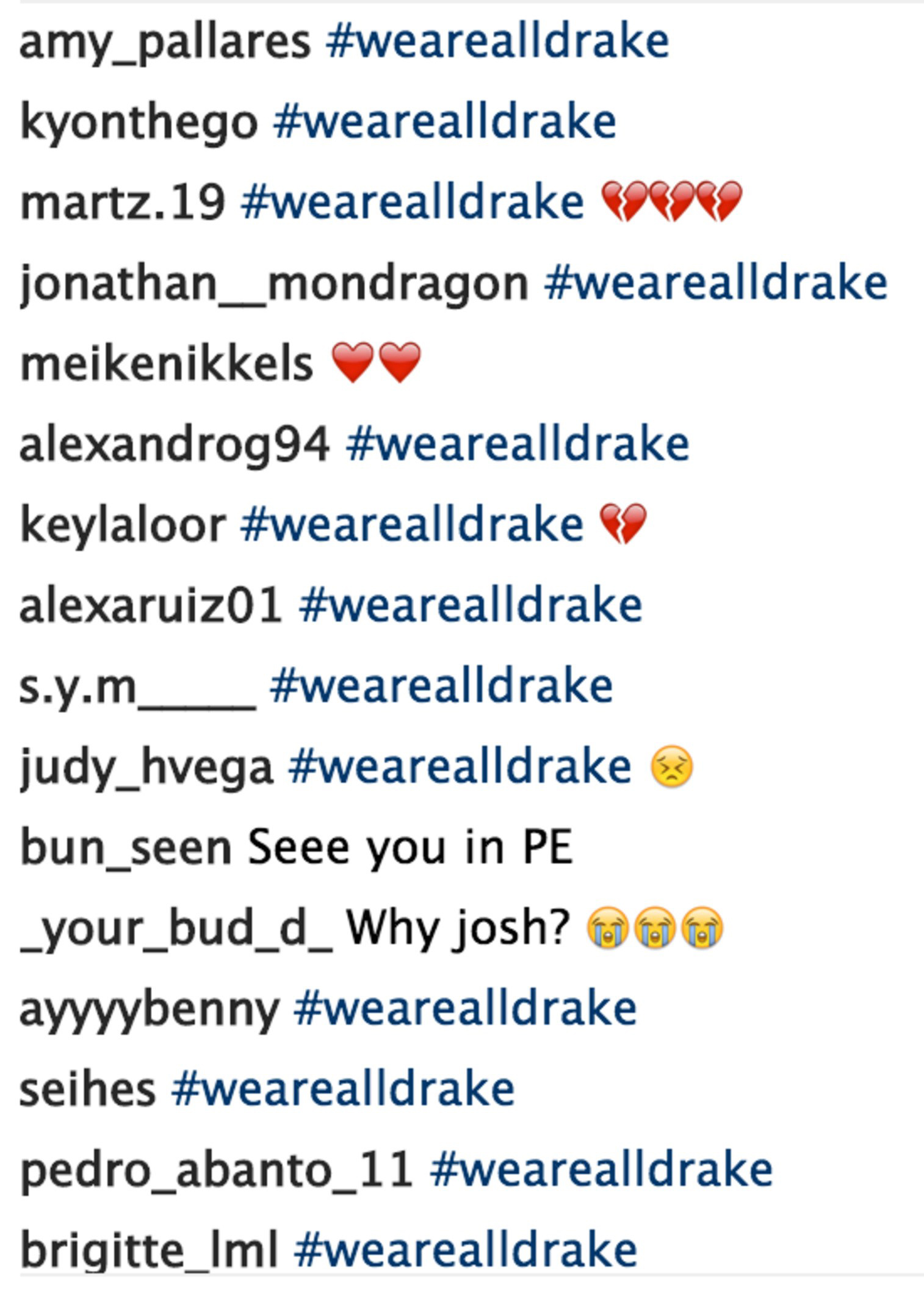 Drake Bell Comments