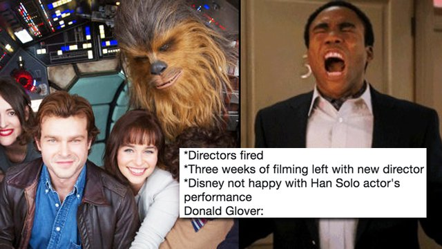 The Han Solo Movie Is Falling Apart The Memes Are Too Much Popbuzz