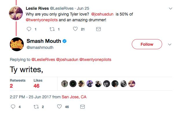 smash mouth tweet 1