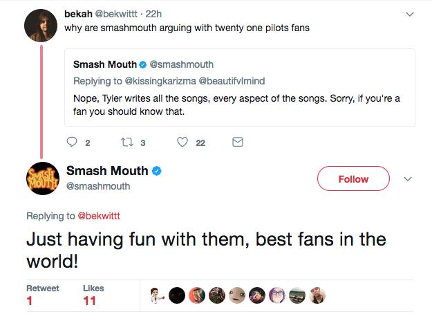smash mouth tweet 7