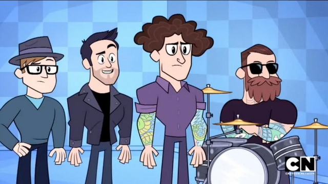 Watch Fall Out Boy Make Surprise Appearance In Teen -7779