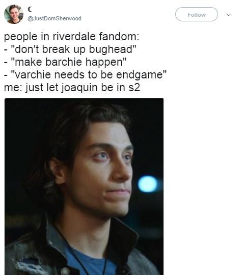 Riverdale fandom meme