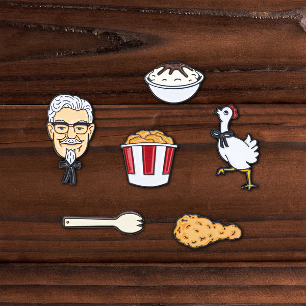 KFC pins