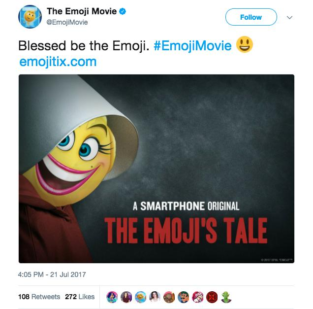 The Emoji Movie Handmaid's Tale