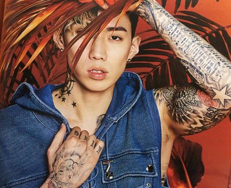 Jay Park Instagram Selfie Balmain Photoshoot