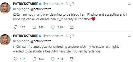 Patrick Star apology