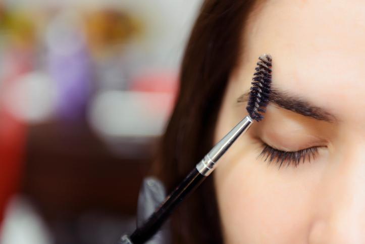 Eyebrow pencil brush