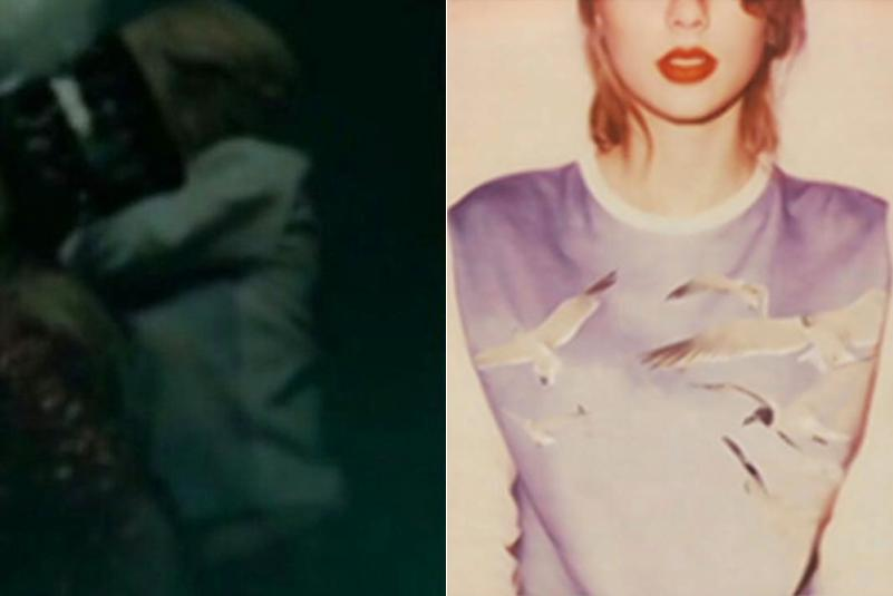 Taylor Swift LWYMMD 1989 Album Cover Sweater