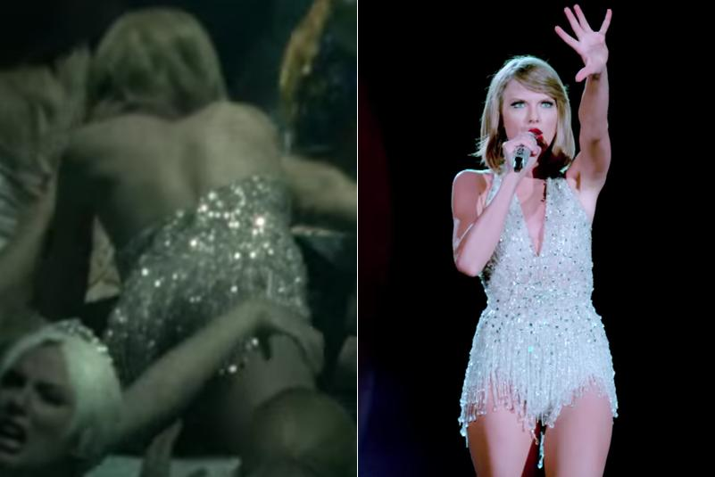 Taylor Swift LWYMMD 1989 Tour Dress