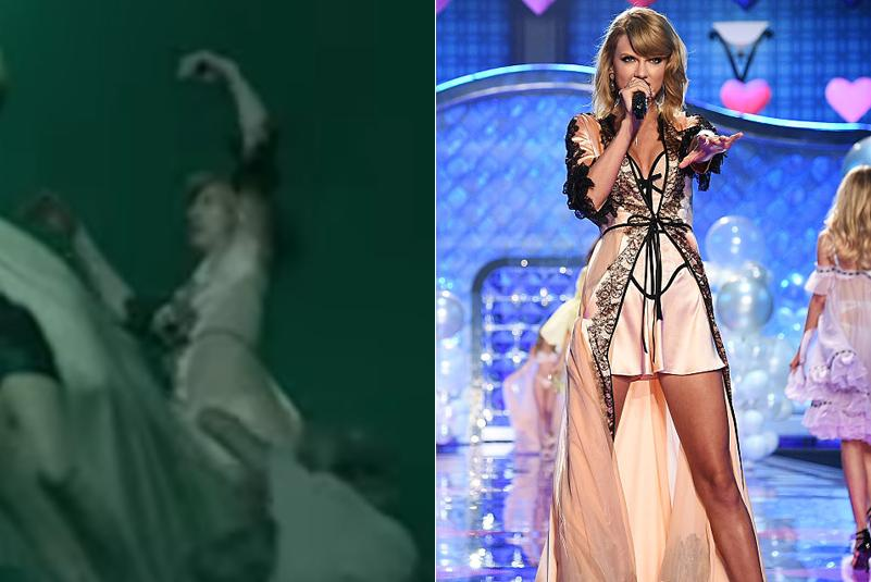 Taylor Swift LWYMMD Victoria's Secret Fashion Show