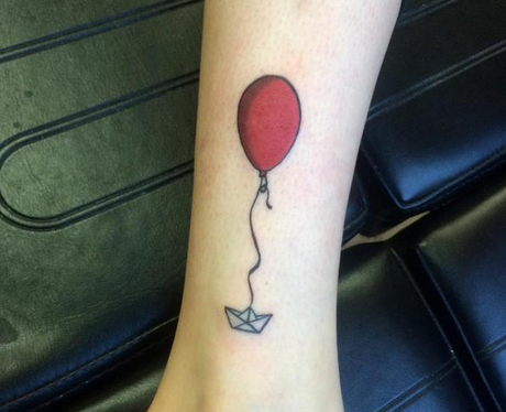11 insane it tattoos that are just as terrifying as pennywise