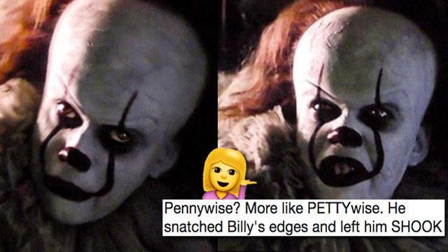 pettywise it meme roundup 1506000840 list handheld 0 pettywise' is now a meme and it's the most savage thing you'll ever