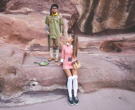 Ariana Grande And Mac Miller As Moonrise Kingdom 31