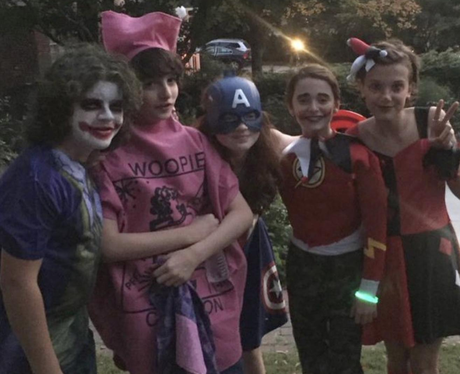 Cast of Stranger Things Halloween