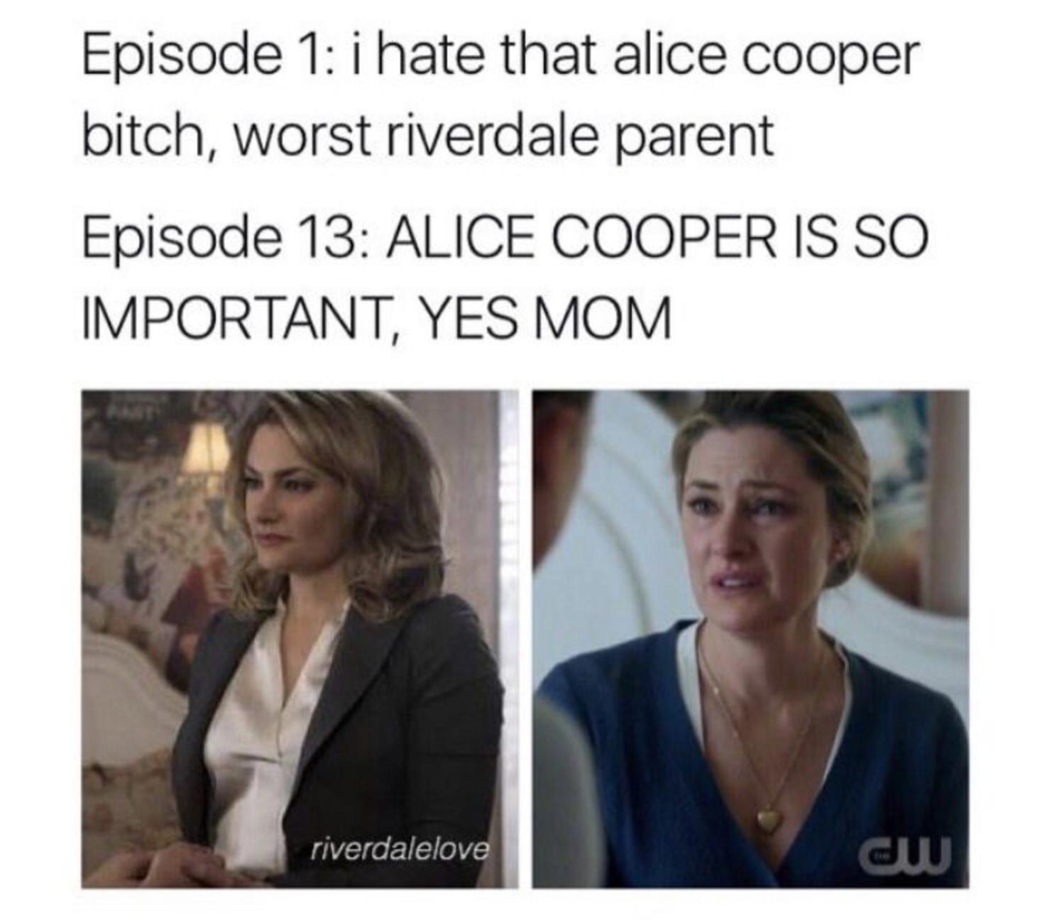 Alice Cooper RIverdale Meme