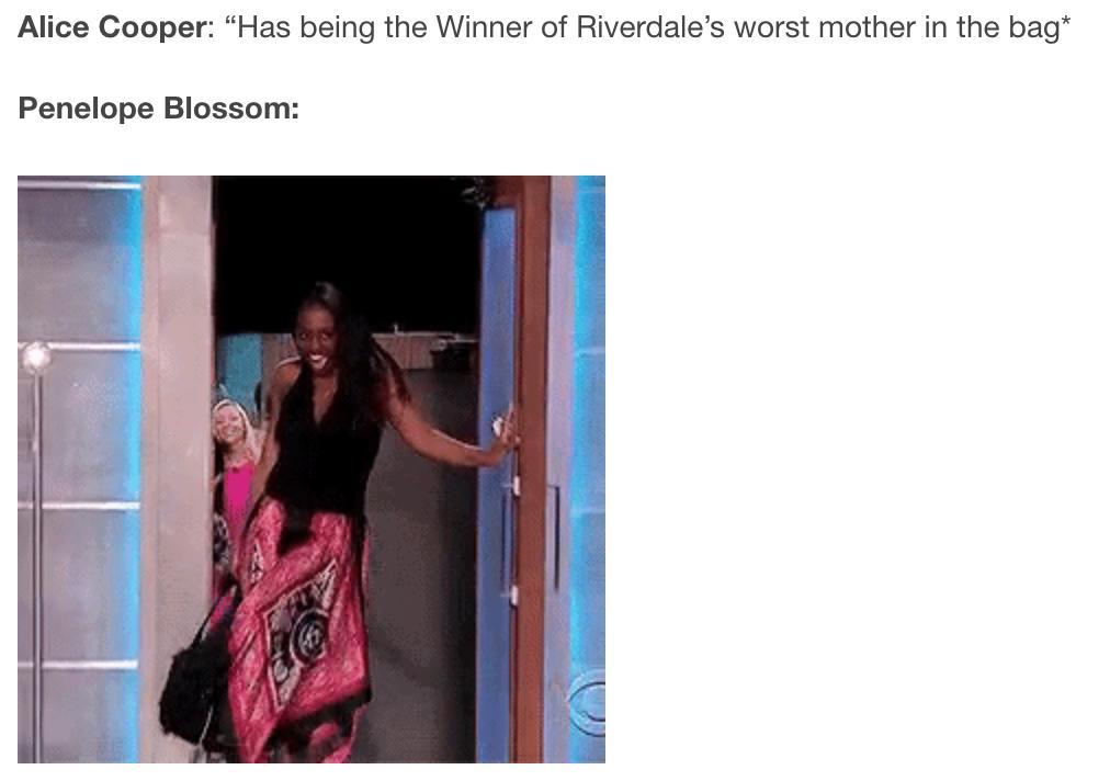 Alice Cooper RIverdale Meme 2