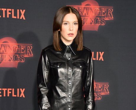 Millie Bobby Brown Stranger Thins 2 Premiere