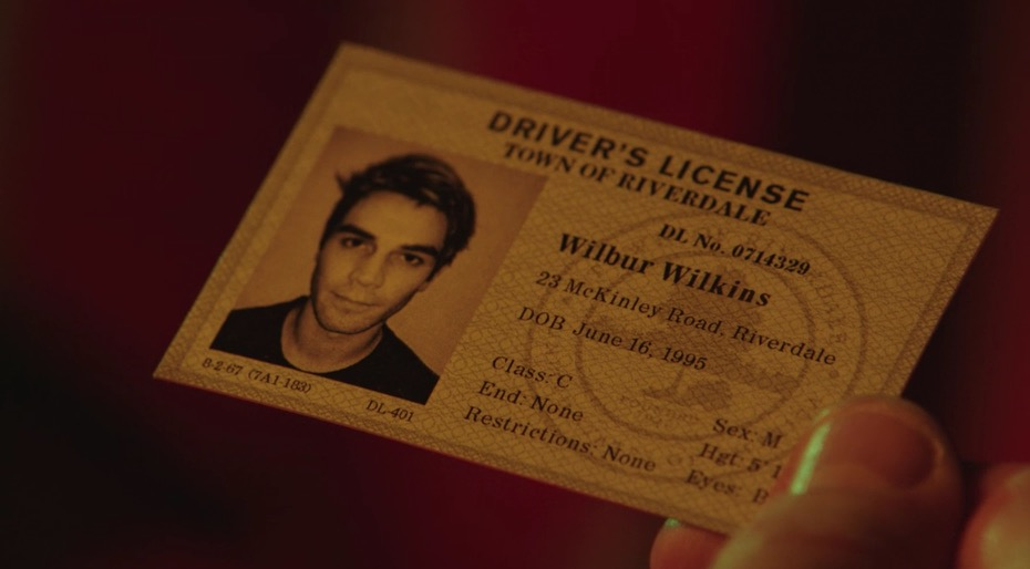 Archie Andrews fake ID