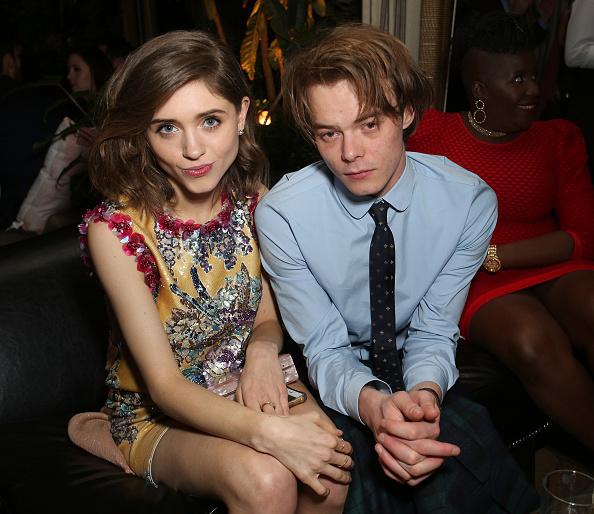 Charlie Heaton and Natalia Dyer