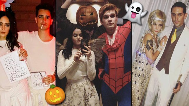 Iconic Celebrity Halloween Outfits From 2017 That Definitely Put Yours To Shame