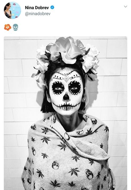 Nina DObrev halloween costume