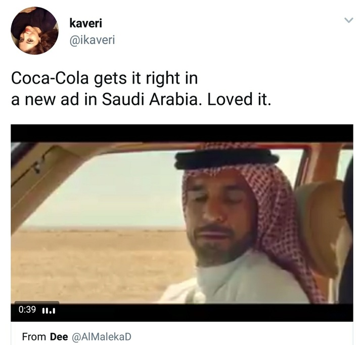 Coke reaction tweet 3