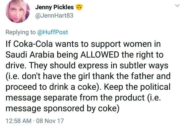 Coke reaction tweet 4