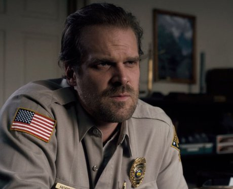 Stranger Things David Harbour Chief Hopper age